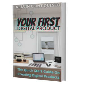 your first digital product